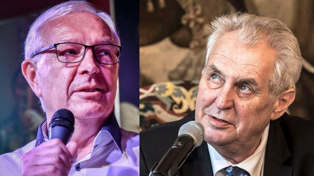 Zeman, Drahoš iHilšer. Úřad šetří chyby vkampani kandidátů na prezidenta