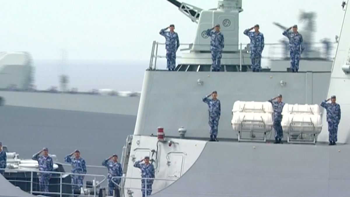 Síla a jednota. Čína uspořádala obří námořní cvičení