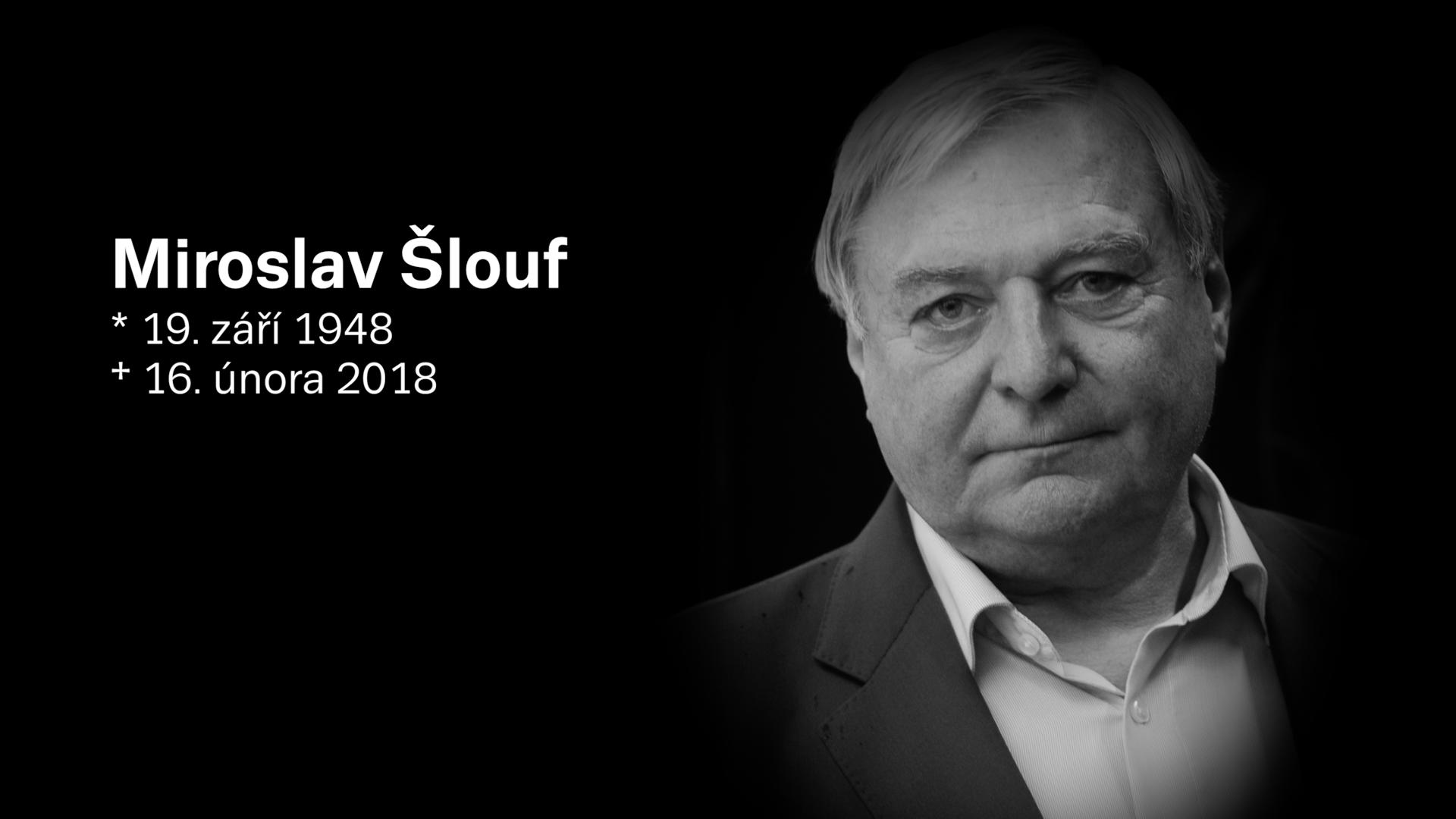 Zemřel lobbista a bývalý poradce Miloše Zemana Miroslav Šlouf. Zabila ho rakovina, říká jeho přítel