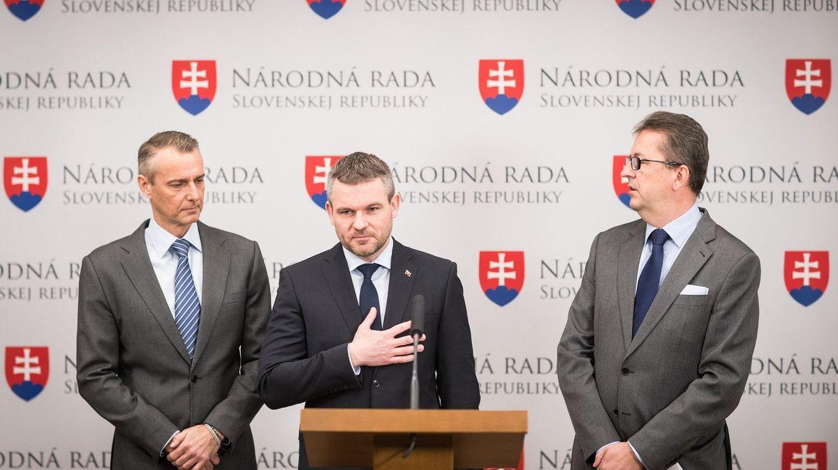 Pellegrini představil návrh nové vlády, změnilo se obsazení jen pěti postů včetně premiéra