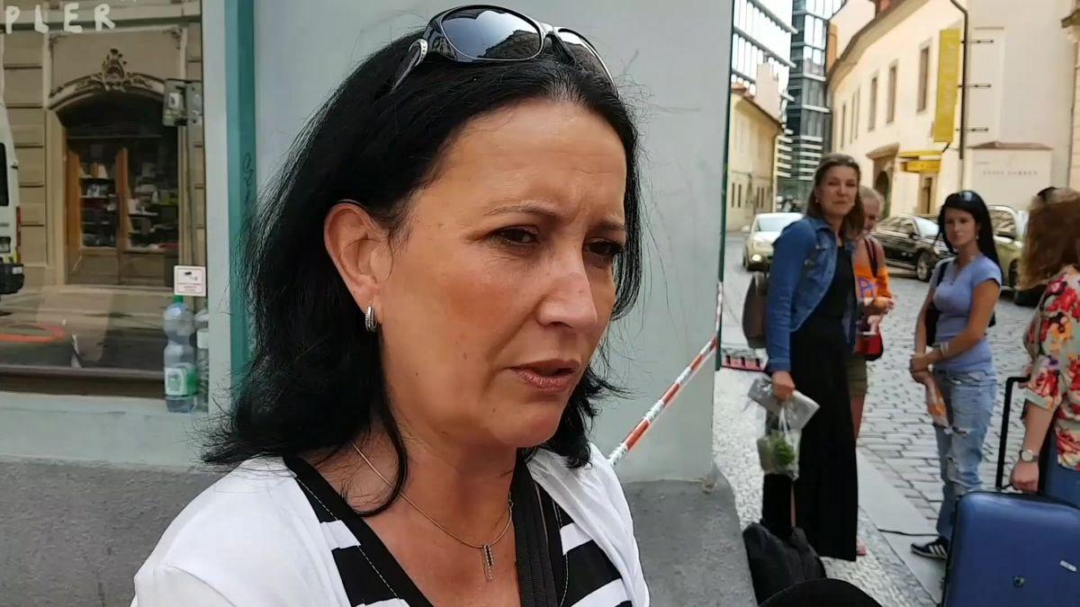 Hrozný zážitek, říká herečka z Ordinace, která viděla zřícení budovy v Mikulandské