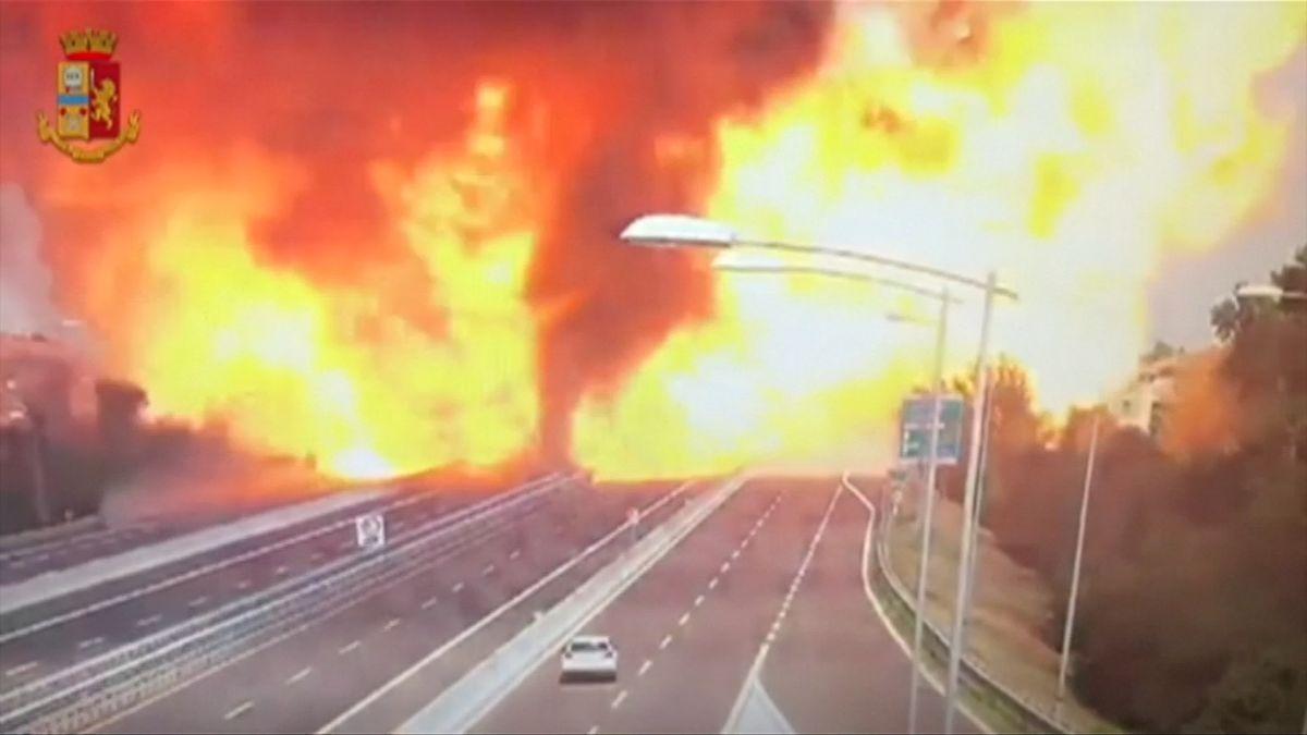 Masivní exploze u Bologni zabíjela, desítky lidí zranila