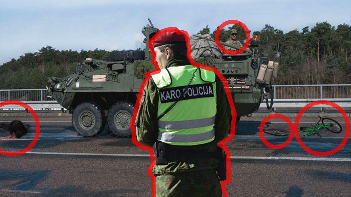 Dezinformační válka v Pobaltí. Odpůrci NATO použili upravenou fotografii pořízenou před 3 lety v Česku