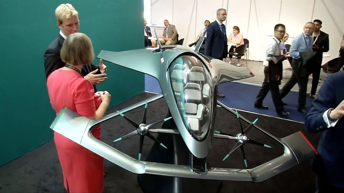 Aston Martin se chce svézt na vlně letecké revoluce, jeho osobní luxusní letoun bude stát miliony liber
