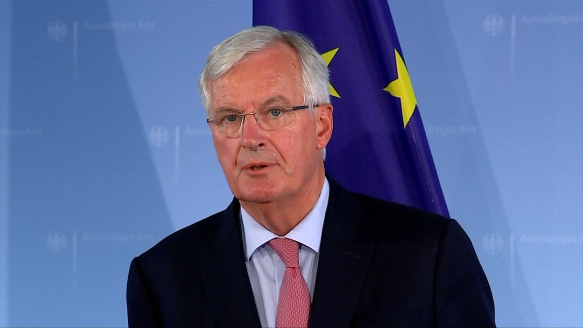 Plán Mayové na dohodu s EU kritizuje Barnier i další konzervativci