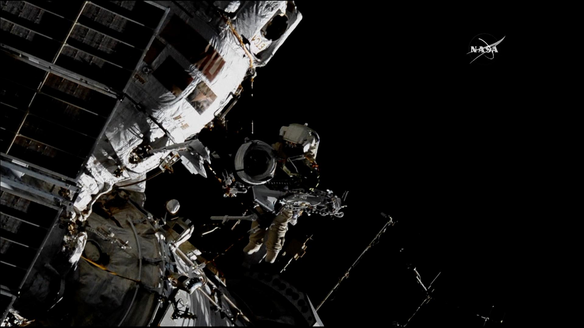 Kosmonauti namontovali na ISS antény pro sledování migrace zvěře