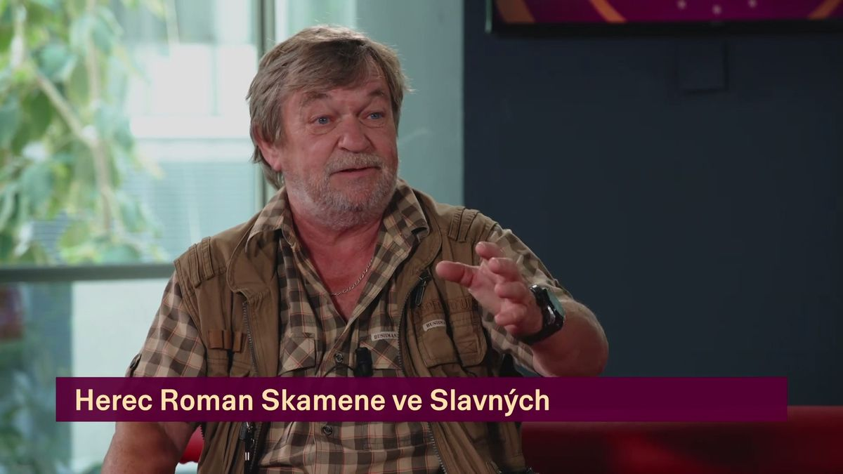 Herec Roman Skamene si užívá důchodový věk i hraní
