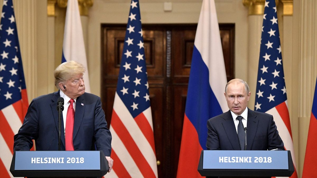 Rusko bylo spokojeno se summitem v Helsinkách
