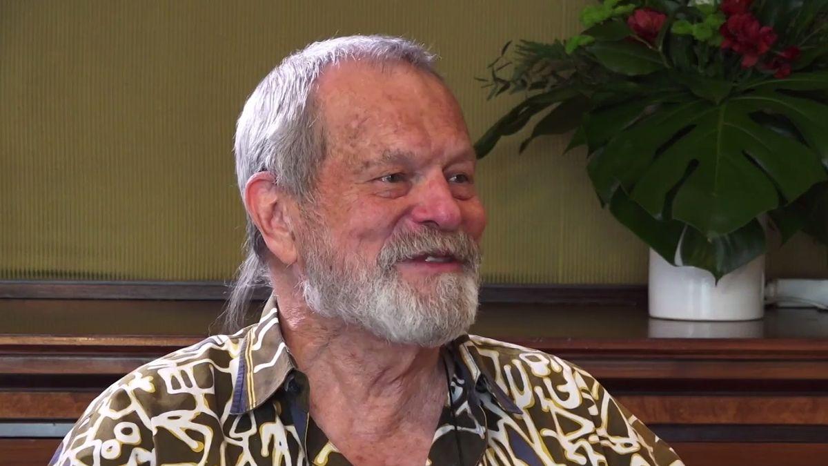 Češi vynikají ve schopnosti přežít za každou cenu, říká režisér a někdejší člen Monty Pythonů Terry Gilliam