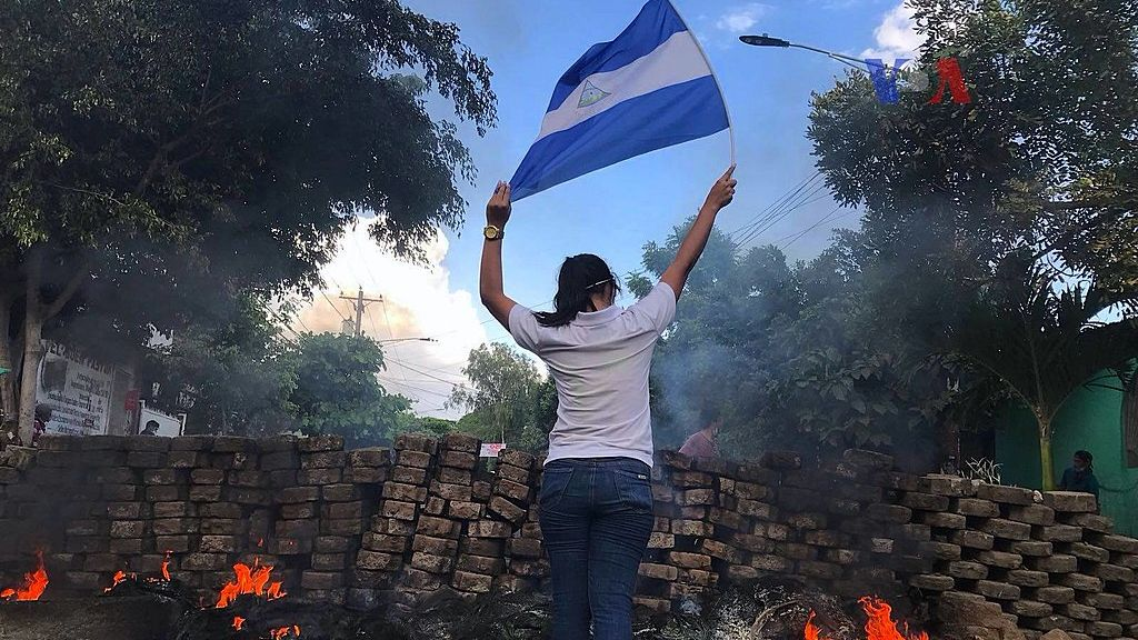 USA vyhlásily sankce za násilí v Nikaragui, odsoudily tamního prezidenta Ortegu