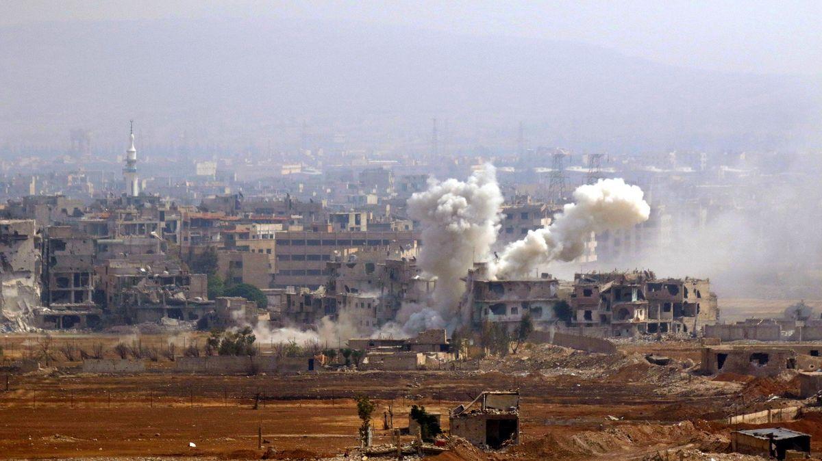 Výbuch na severu Sýrie zabil nejméně pět lidí, 85zranil