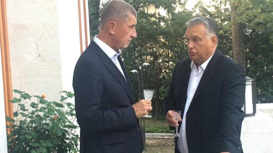 Utajená schůzka v Budapešti. Babiš probíral s Orbánem migraci a pozval ho do Prahy