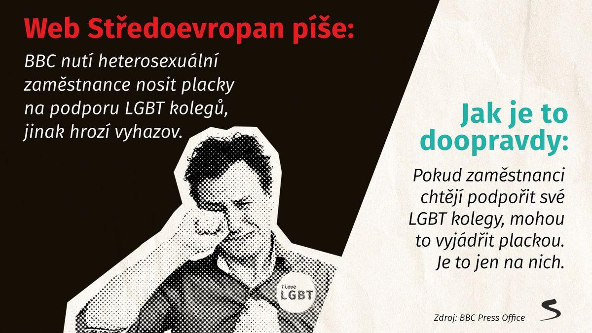 BBC nastoluje totalitu kvůli LGBT komunitě. Anebo ne?