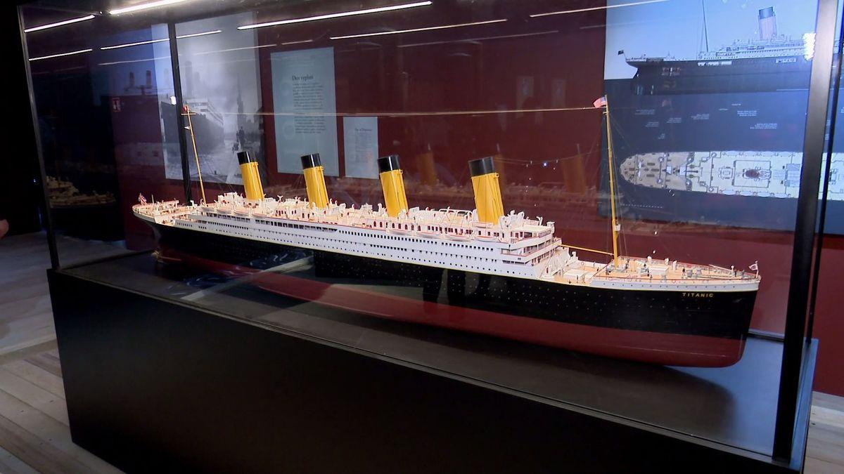 Do Brna připlul Titanic. Originální výstava láká na šperky ikusy lodi