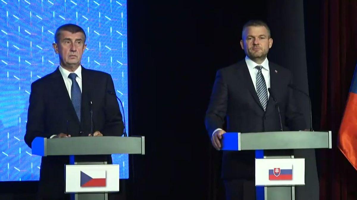 """""""Je tam tři dny i s cestou,"""" reagoval Babiš v Košicích na kritiku od slovinského premiéra"""