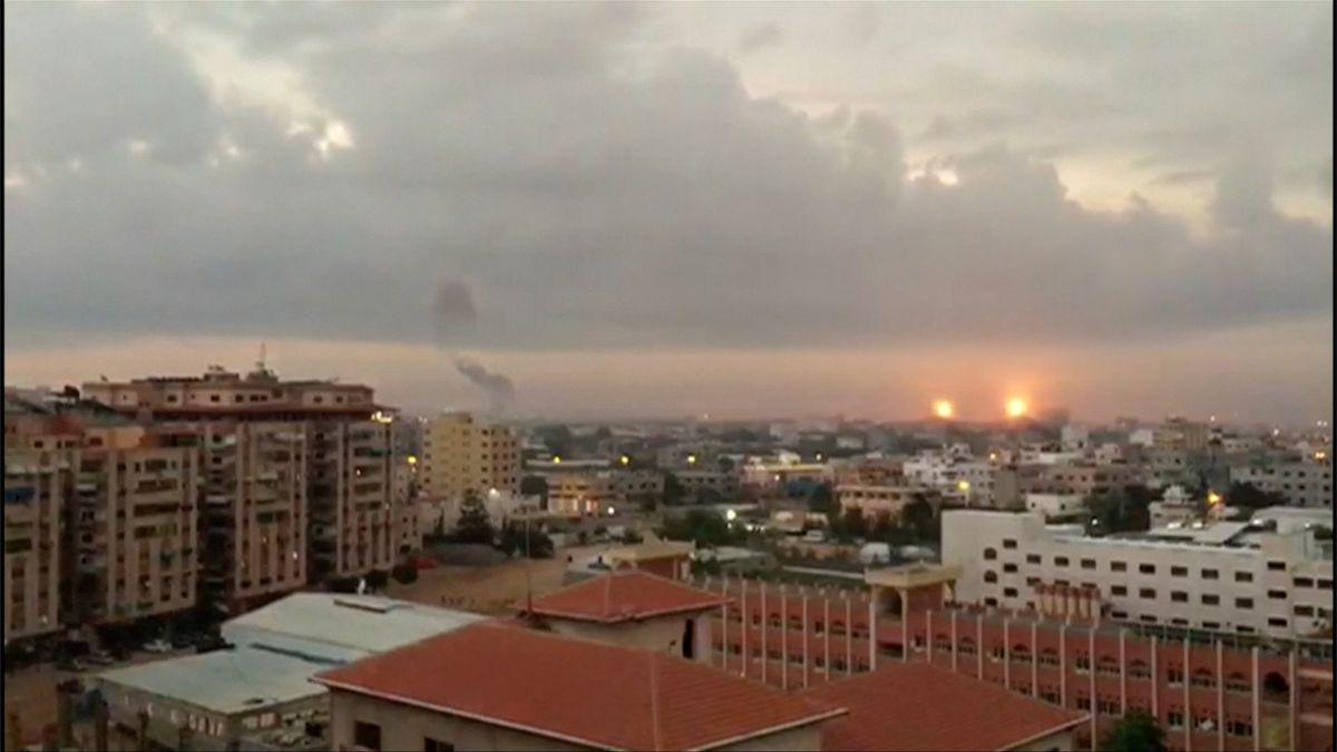 Izrael zaútočil na cíle vPásmu Gazy