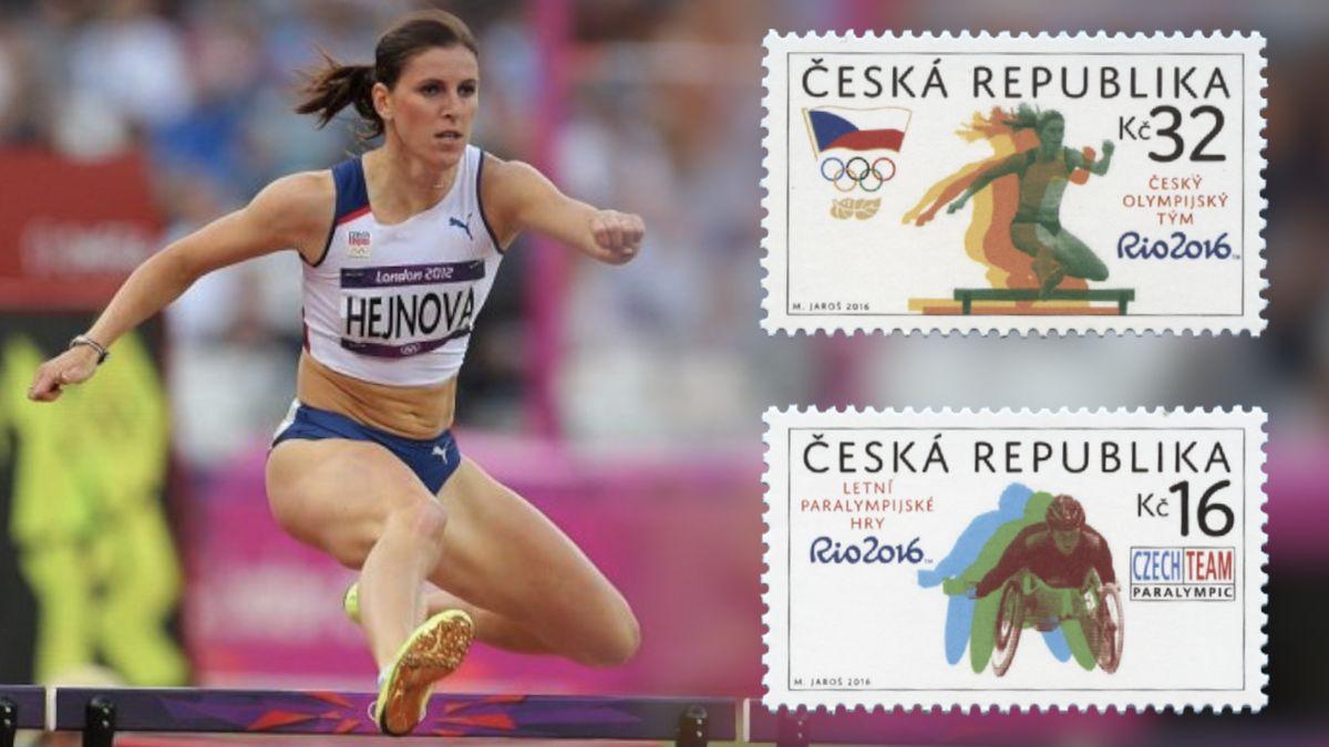 Atletka Hejnová se kvůli známce soudí sČeskou poštou. Takový případ tu zatím nebyl, řekl soudce