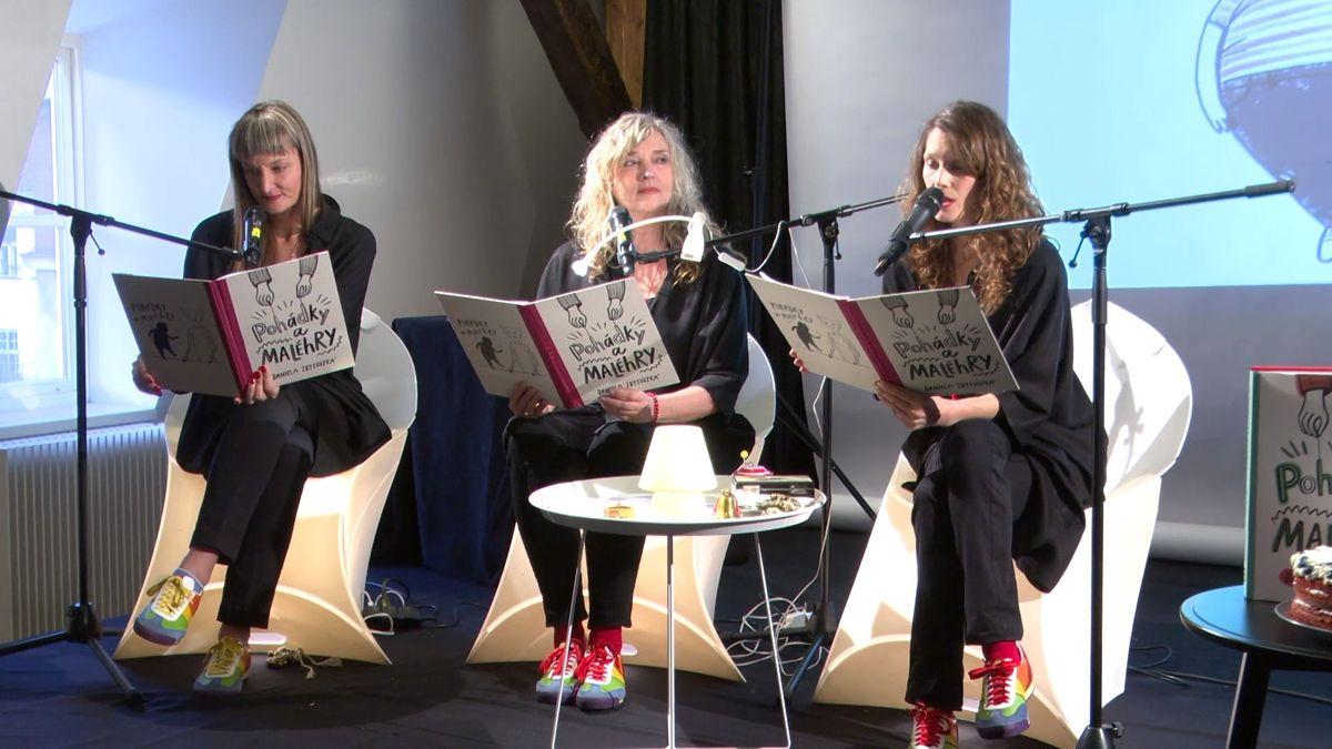 České herečky opět píší a hrají pro děti, druhou knihu jim pokřtil Petr Nárožný