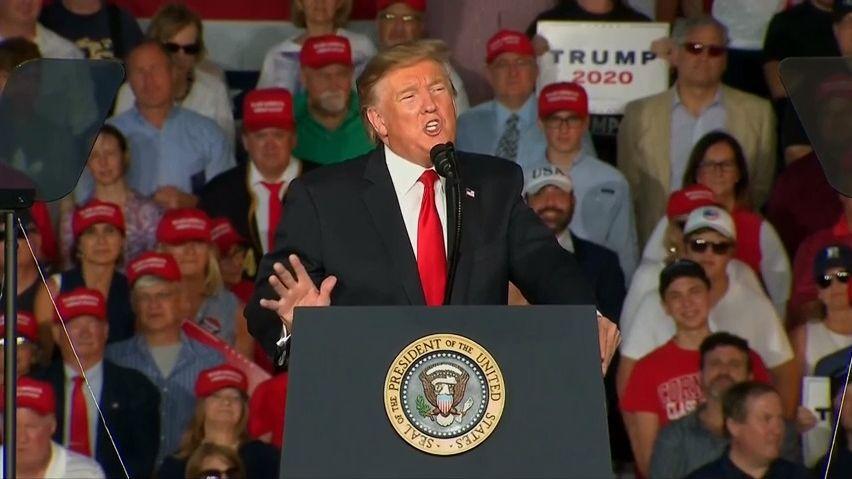 Trump za necelý den vybral na kampaň 567milionů korun, víc než přední demokraté za čtvrt roku
