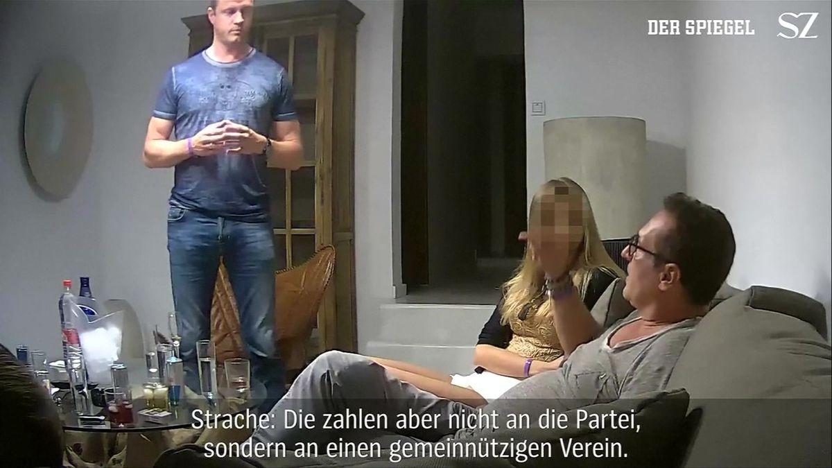 Video, které položilo rakouskou vládu: Miliony na kampaň, státní zakázky Rusům, orbánizace médií