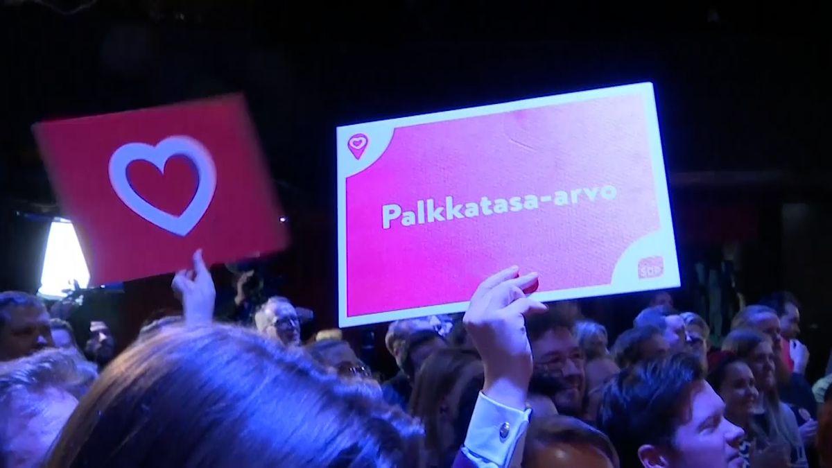 Parlamentní volby ve Finsku těsně vyhráli sociální demokraté