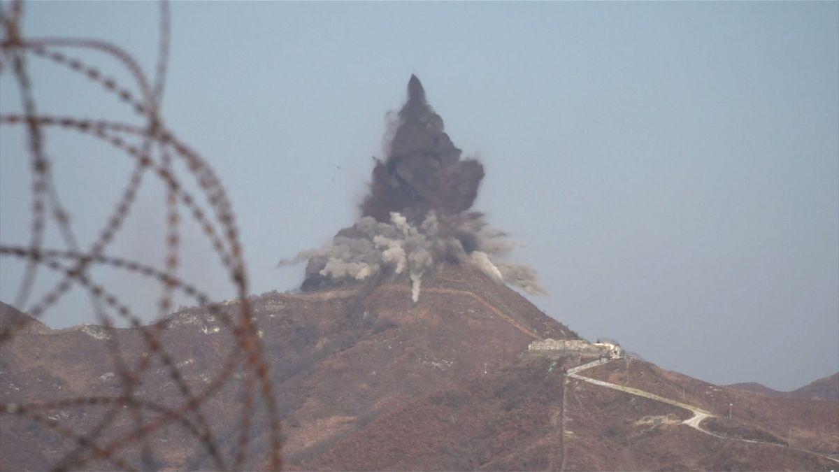 KLDR po vzoru jižního souseda zničila deset svých vojenských stanovišť