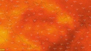 VKlementinu vneděli naměřili nejteplejší den za téměř čtvrt milénia