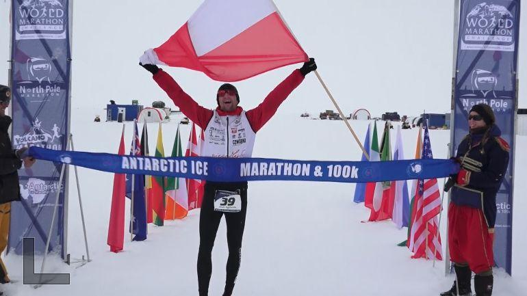 Nejtěžší inejoriginálnější maraton na světě. Na Jižním pólu