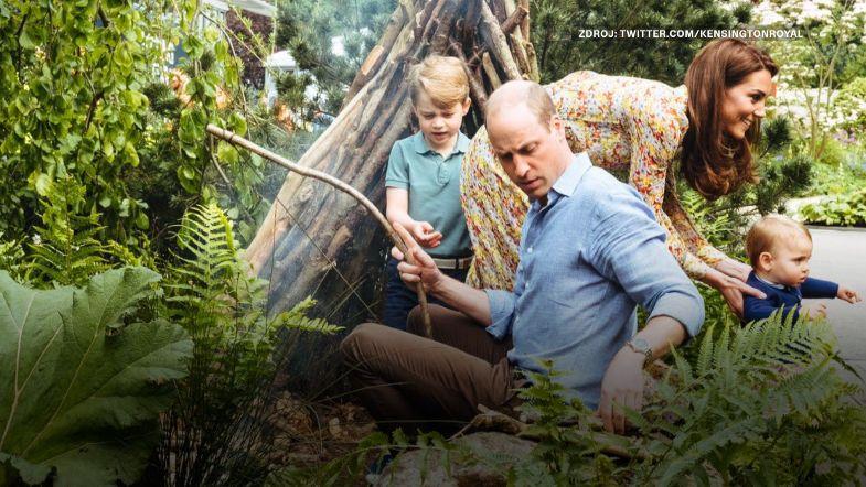 Královská rodina má nové fotky zlesní zahrady. Na designu se podílela vévodkyně Kate