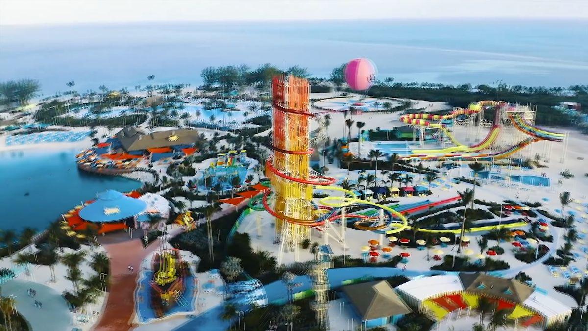 Nejvyšší americký tobogán je na Bahamách. Soukromý ostrov plný zábavy stál přes pět miliard