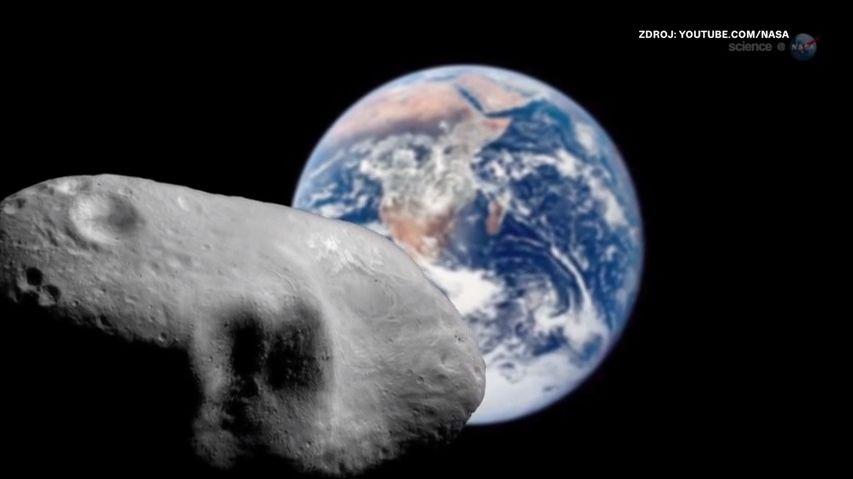 NASA testuje vesmírnou hrozbu. Do Země narazí asteroid