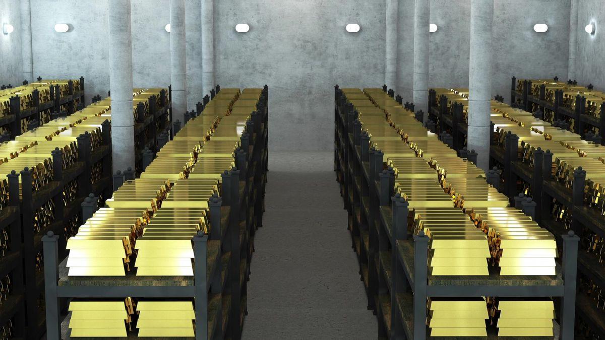 Ruská centrální banka skupuje ve velkém zlato