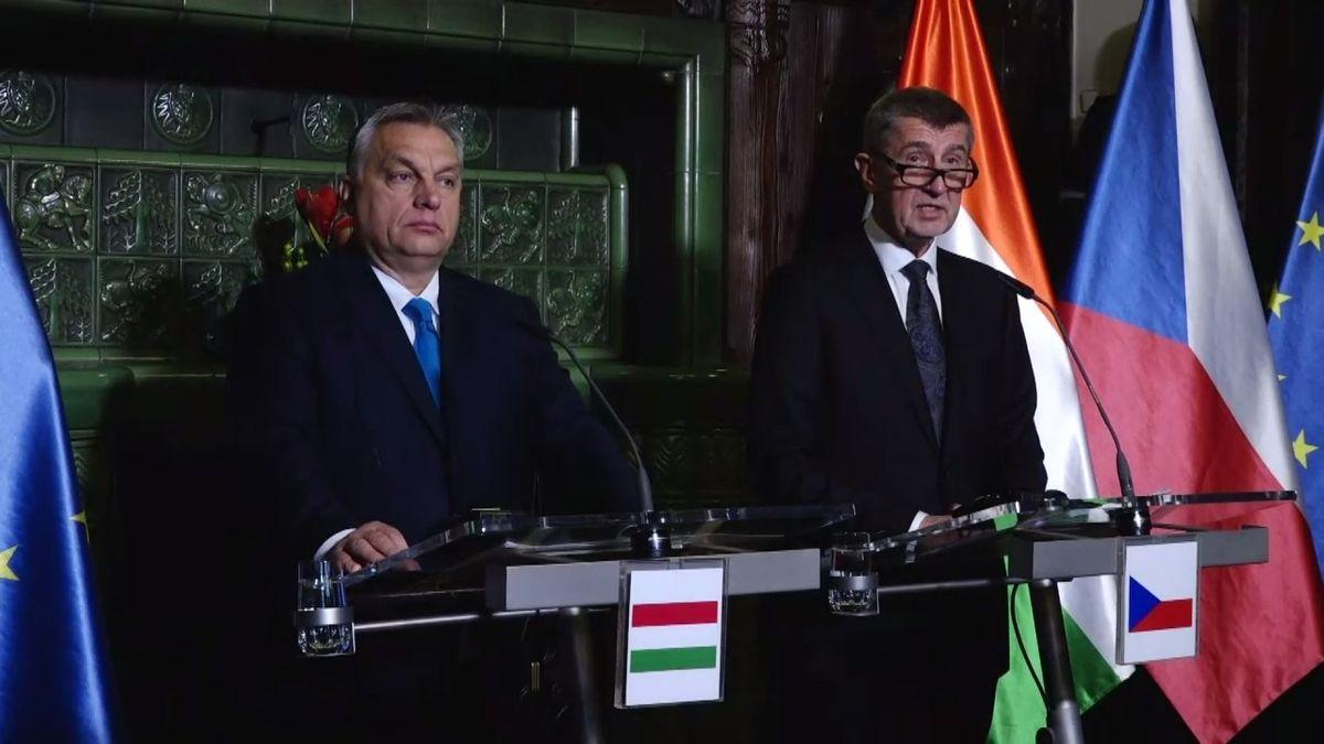 Babiš po schůzce sOrbánem: Maďarsko je náš partner, Petříčkův plán sambasádou jsem nepochopil