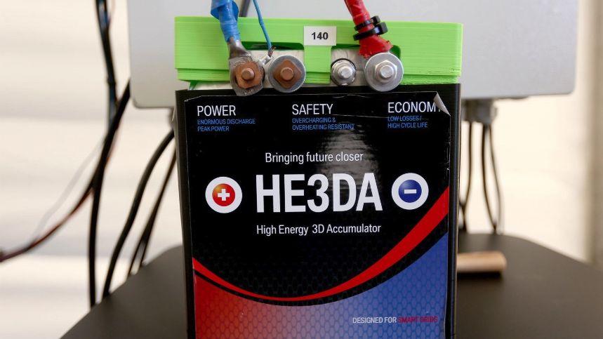 České baterie HE3DA se mají vyrábět vUSA