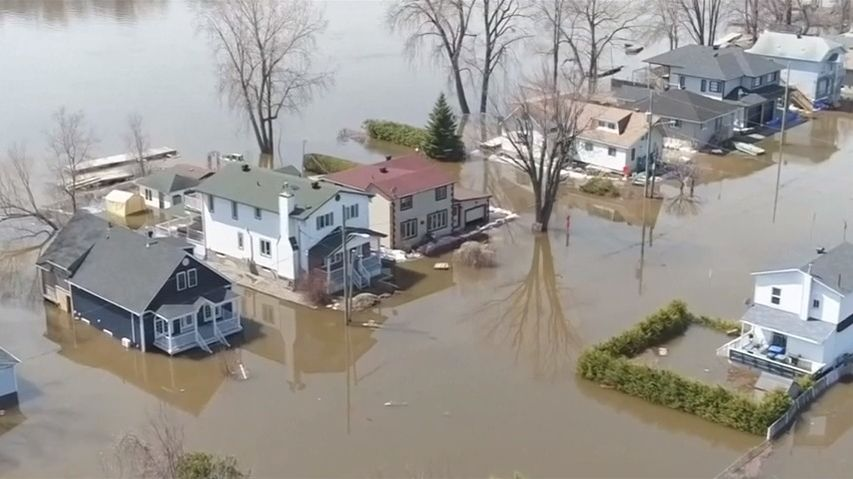 VKanadě evakuovali kvůli záplavám přes 10tisíc lidí, povodně jsou rekordní