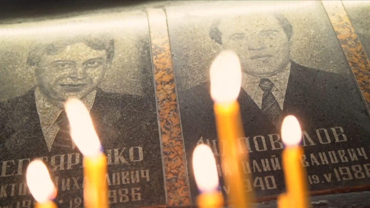 Od tragédie vČernobylu uplynulo 33let. Rodiny a přátelé obětí mají stále živé vzpomínky