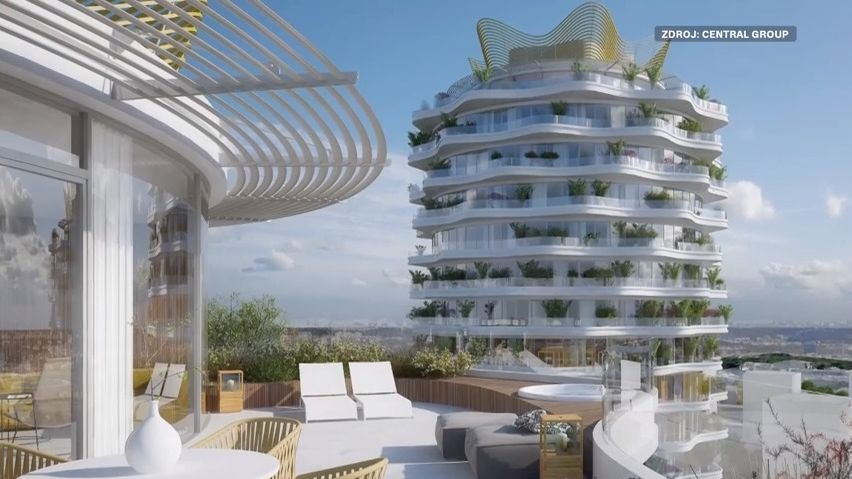 Slavná architektka představuje věže pro Žižkov. Oproti Londýnu to jsou pidimužíci, říká Jiřičná