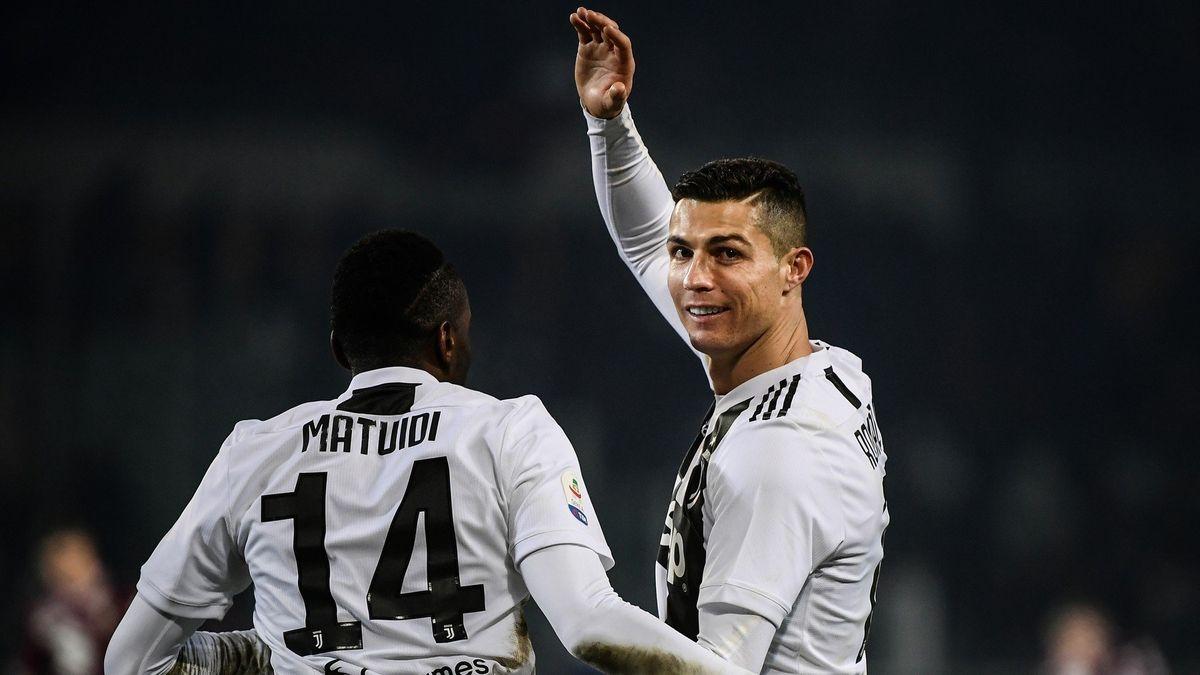 V přenosu TV Seznam vstřelil Ronaldo 5000.gól Juventusu vSerii A. Posílí Nedvědův klub iPogba?