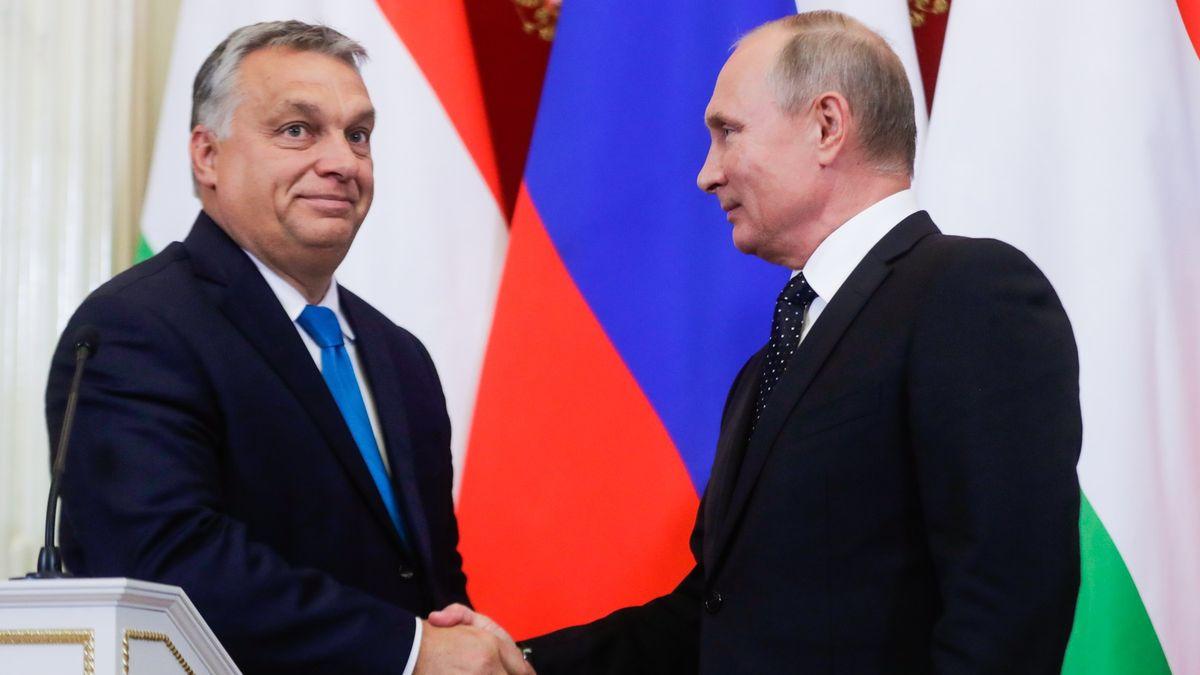 Plyn a elektřina výměnou za lobbing vUnii. Orbán sPutinem dál utužují vztahy