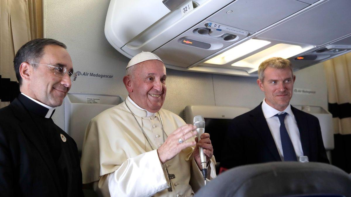 Jsou jako Hitler vroce 1934.Papež ostře zkritizoval xenofoby, schismatu se nebojí