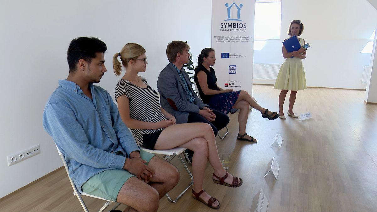 Projekt brněnské univerzity: Studenti budou sdílet byty smladými zdětských domovů