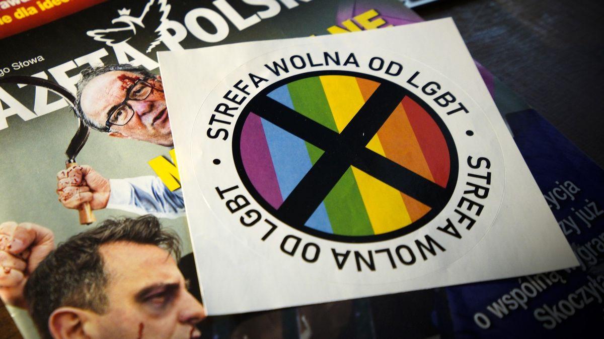 """Území """"bez LGBT"""" porušuje lidská práva, protestuje polský ombudsman"""