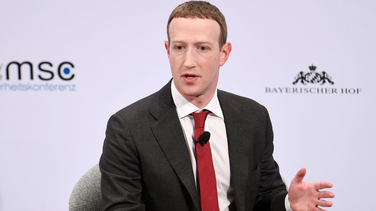 Zuckerberg se setká sJourovou. Facebook by mohl platit větší daně