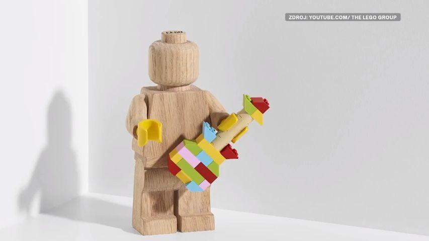 Pětkrát větší a dřevěná. Lego přichází slimitovanou edicí ikonické postavičky