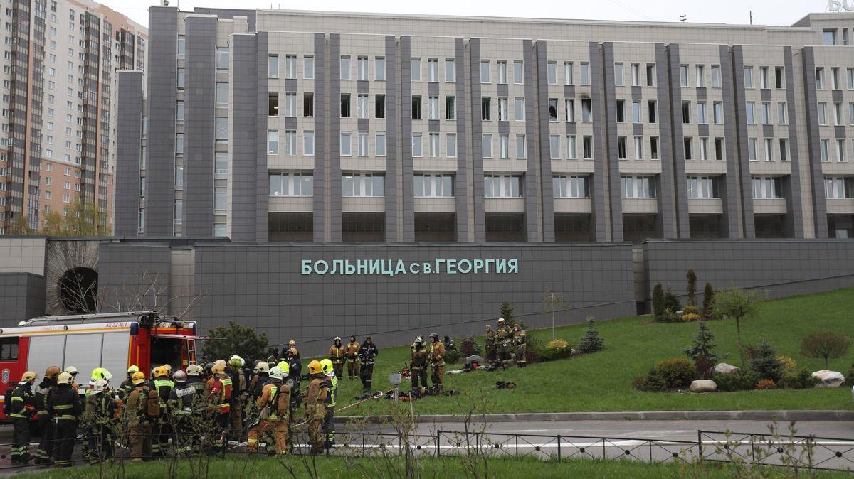 Další požár vruské nemocnici, zemřelo pět pacientů skoronavirem