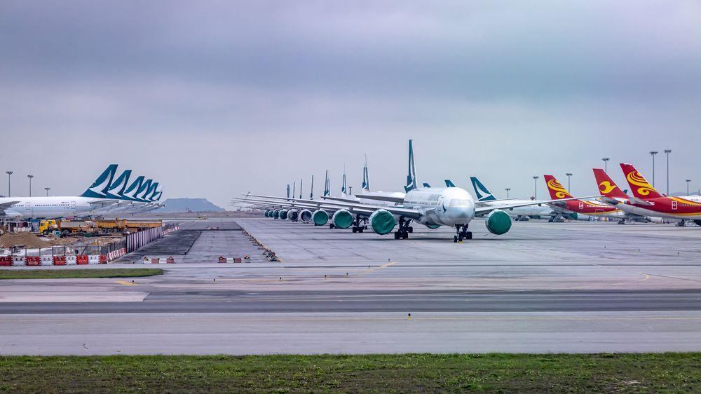 Fotky: Tak to vypadá na letištích včase nákazy