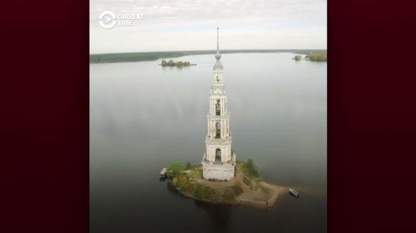 """Zruské přehrady se vynořila """"Atlantida"""", starobylé město"""