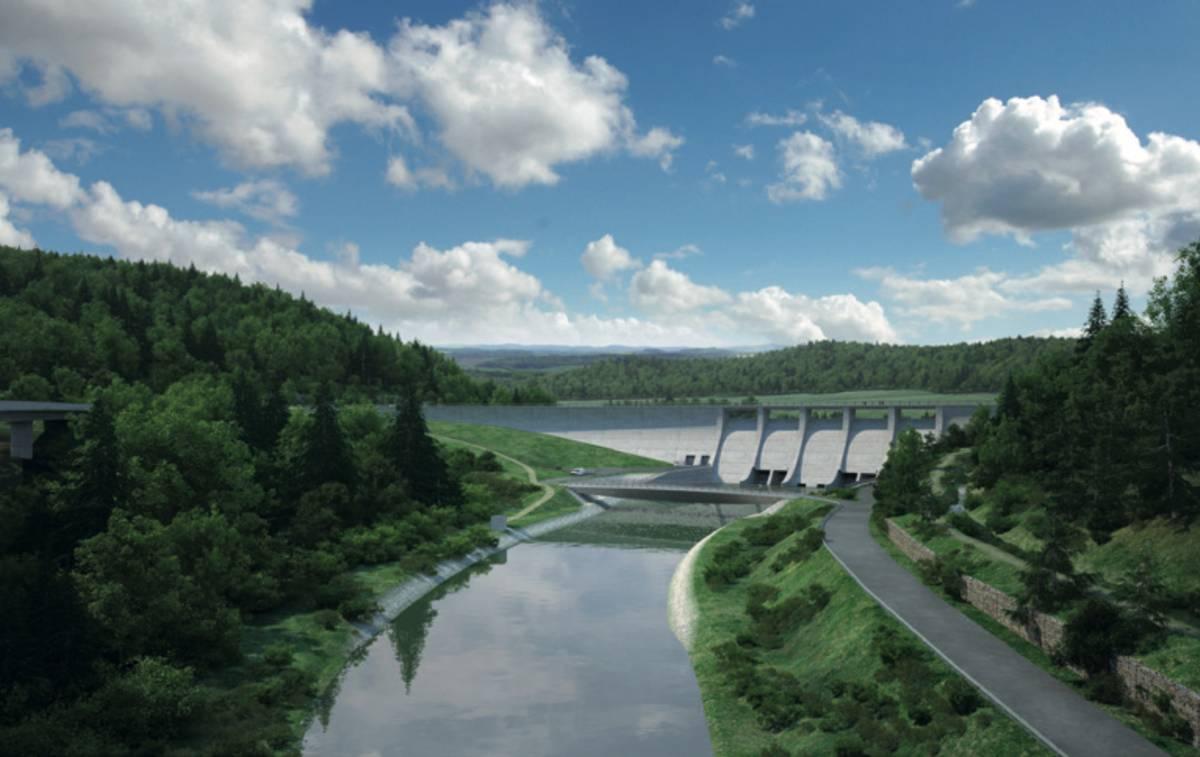 Ministerstvo zemědělství předpokládá, že náklady na přehradu dosáhnou téměř osm miliard korun.