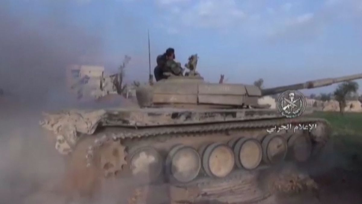 Syrská armáda tvrdí, že překazila nálet na základnu. Údajného útočníka tají