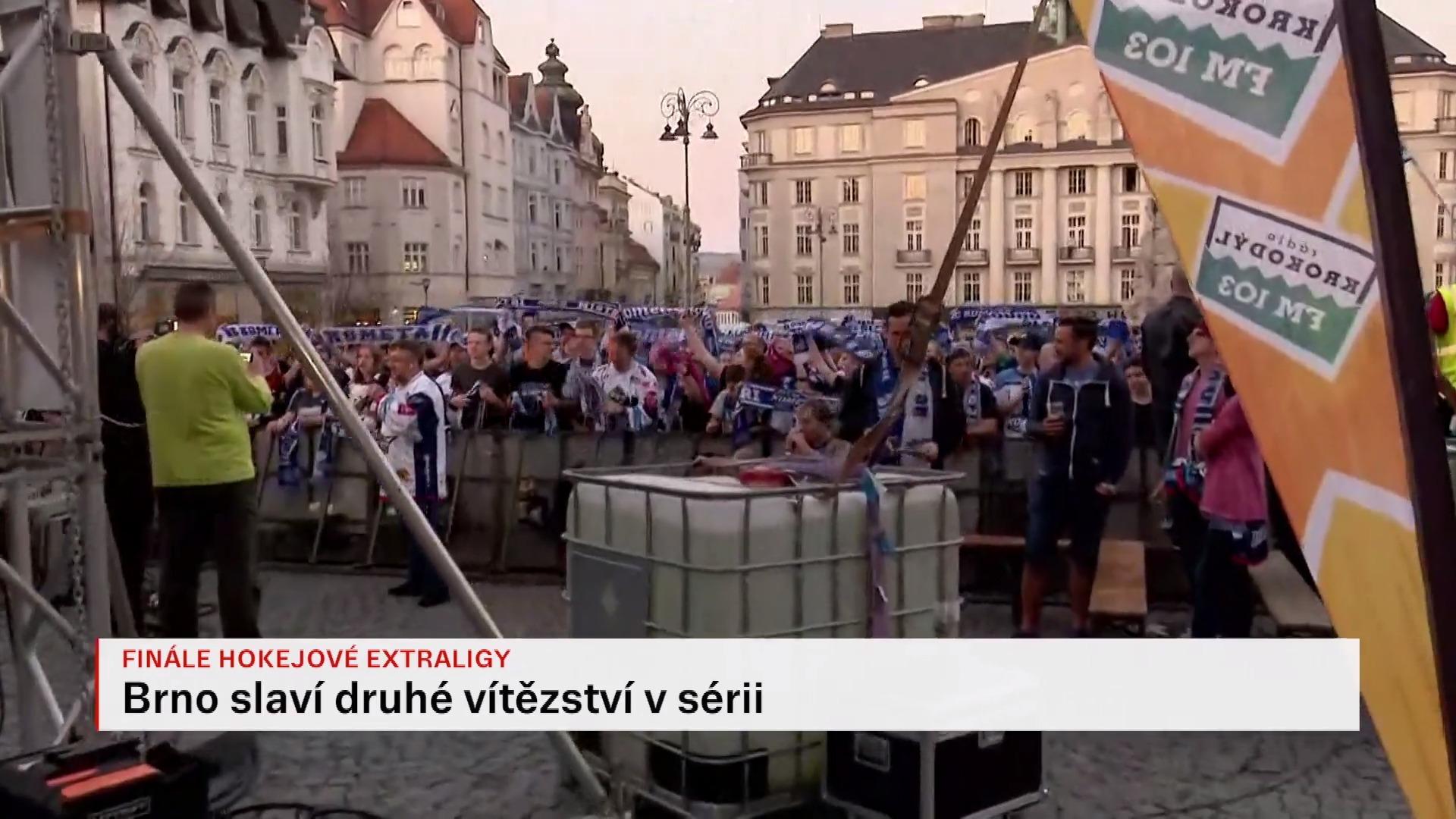 On-line: Morava žije hokejem. Brňané slavili otočení finálové série